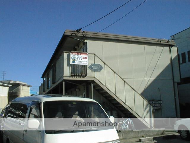 千葉県千葉市若葉区、千葉駅バス8分高品坂下下車後徒歩5分の築34年 2階建の賃貸アパート