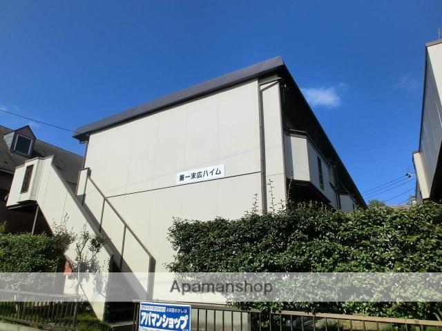 千葉県千葉市中央区、本千葉駅徒歩16分の築40年 2階建の賃貸アパート