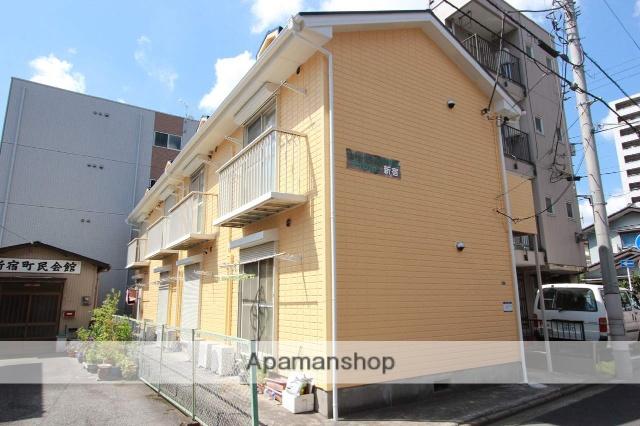 千葉県千葉市中央区、千葉駅徒歩12分の築25年 2階建の賃貸アパート