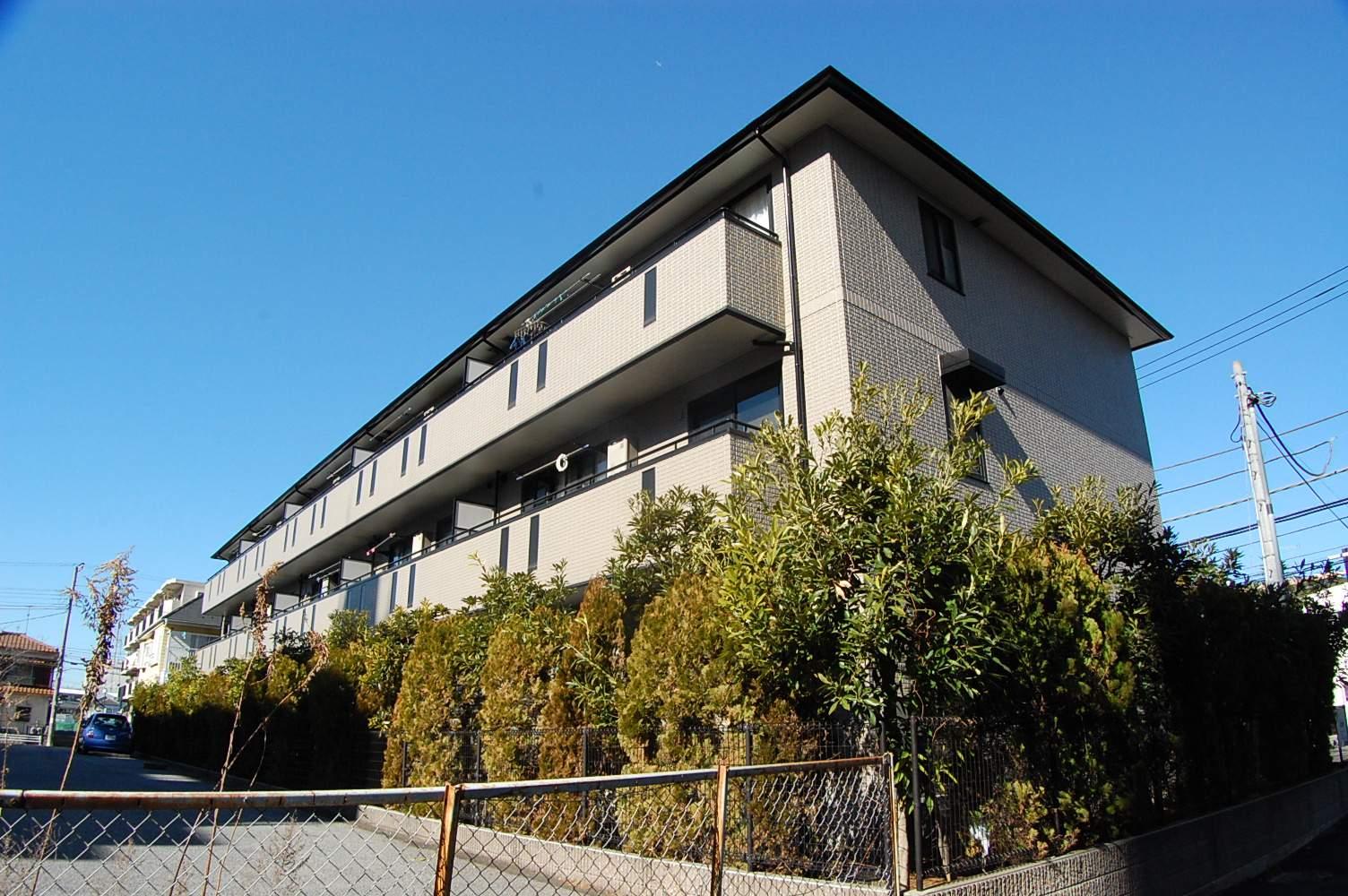 千葉県船橋市、西船橋駅徒歩15分の築14年 3階建の賃貸アパート
