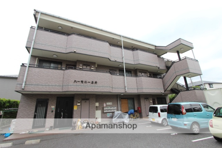 千葉県市川市、西船橋駅徒歩5分の築20年 3階建の賃貸マンション
