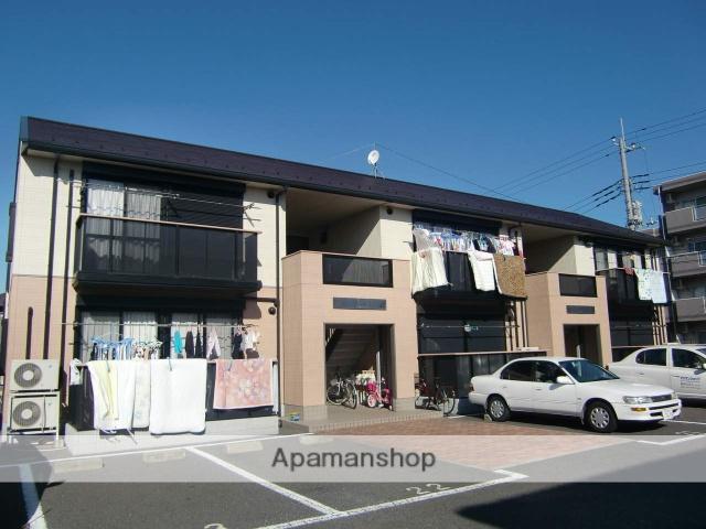 千葉県市川市、市川駅京成バスバス18分北国分下車後徒歩2分の築19年 2階建の賃貸アパート