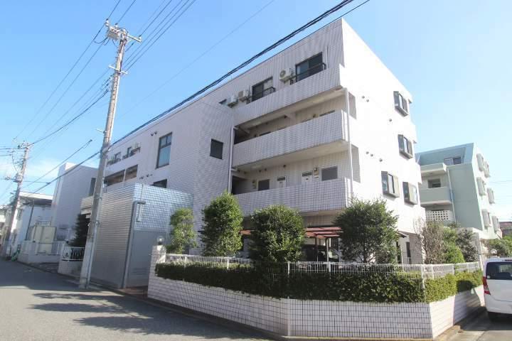 千葉県船橋市、下総中山駅徒歩12分の築25年 4階建の賃貸マンション