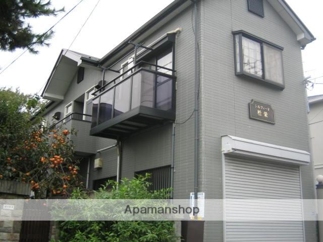 千葉県市川市、本八幡駅徒歩13分の築21年 2階建の賃貸アパート