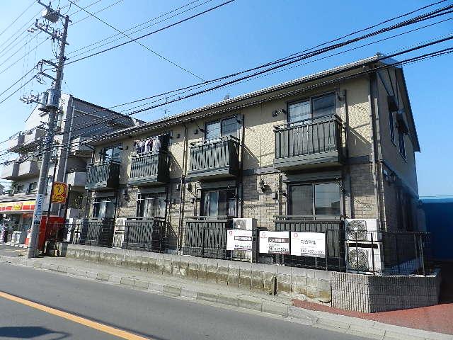 千葉県船橋市、西船橋駅徒歩10分の築13年 2階建の賃貸アパート