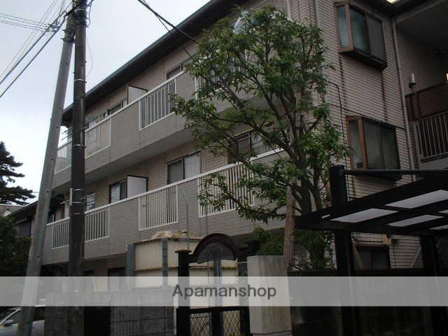 千葉県市川市、市川駅徒歩6分の築20年 3階建の賃貸マンション
