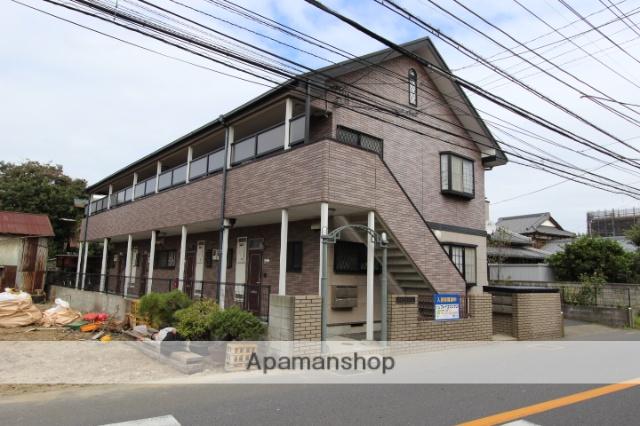 千葉県市川市、下総中山駅徒歩24分の築20年 2階建の賃貸アパート