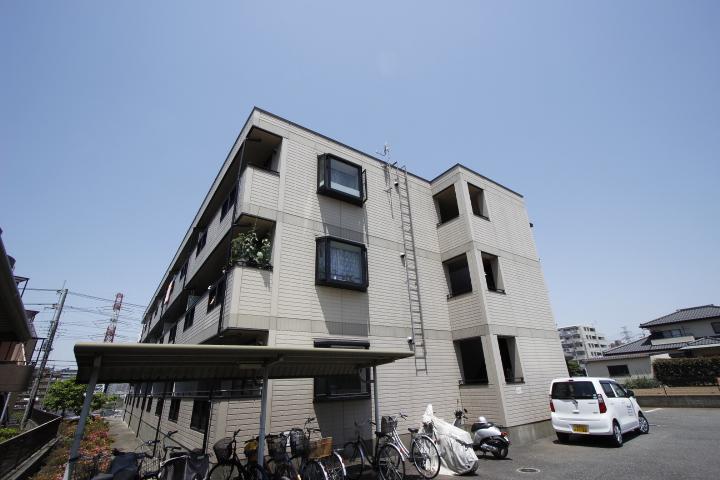 千葉県船橋市、船橋駅徒歩16分の築22年 3階建の賃貸マンション