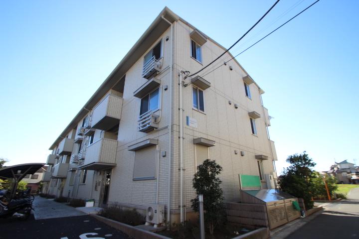 千葉県船橋市、船橋法典駅徒歩19分の築4年 3階建の賃貸アパート