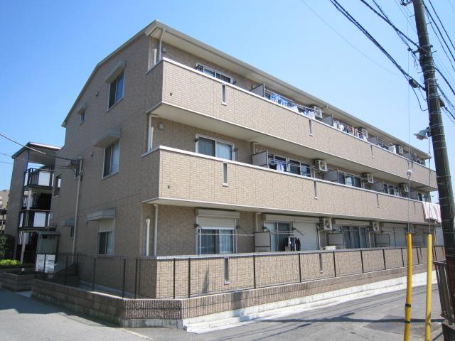 千葉県船橋市、船橋法典駅徒歩5分の築8年 3階建の賃貸アパート