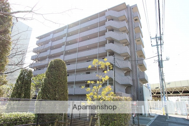 千葉県市川市、本八幡駅徒歩12分の築15年 8階建の賃貸マンション