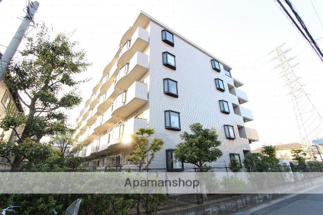 千葉県市川市、本八幡駅徒歩13分の築21年 5階建の賃貸マンション
