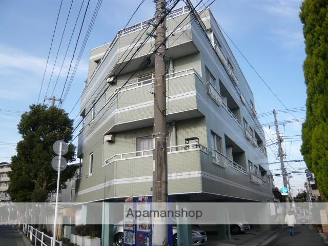 千葉県市川市、本八幡駅徒歩9分の築26年 4階建の賃貸マンション