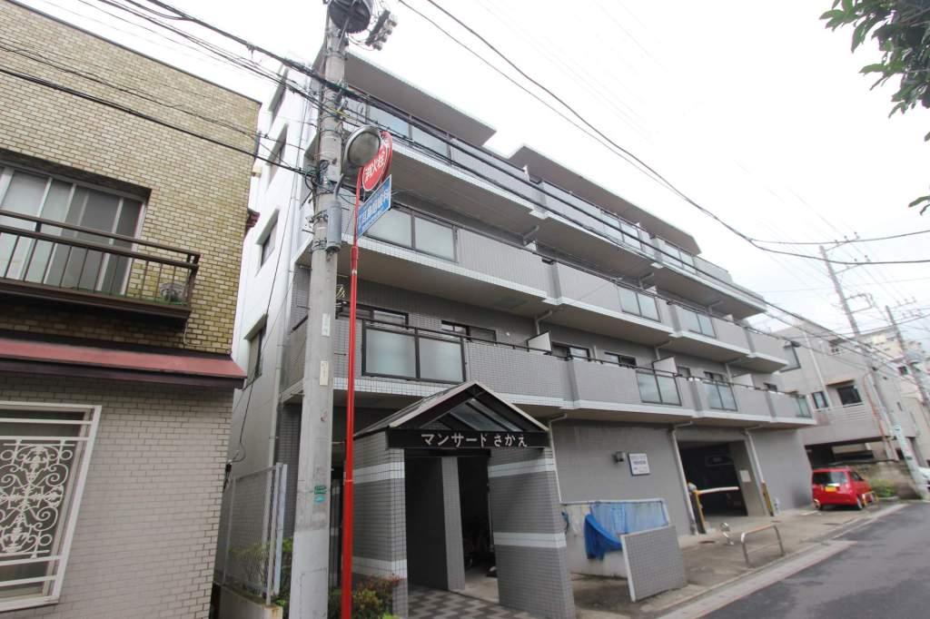 千葉県市川市、市川駅徒歩5分の築24年 5階建の賃貸マンション