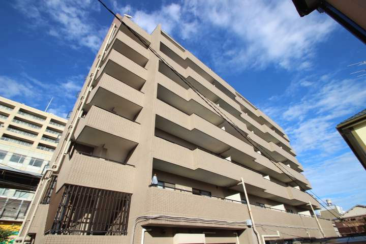 千葉県船橋市、西船橋駅徒歩19分の築29年 7階建の賃貸マンション