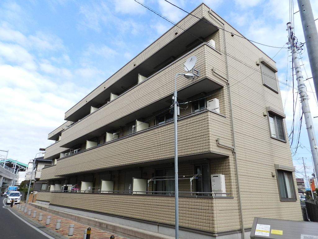千葉県船橋市、京成船橋駅徒歩15分の築11年 3階建の賃貸マンション
