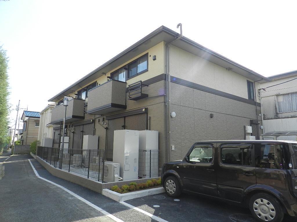 千葉県市川市、市川駅徒歩21分の築5年 2階建の賃貸アパート