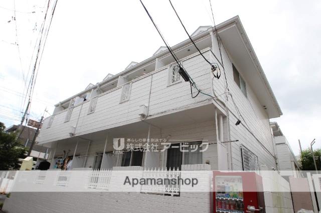 千葉県船橋市、下総中山駅徒歩11分の築34年 2階建の賃貸アパート
