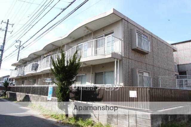 千葉県市川市、原木中山駅徒歩7分の築28年 2階建の賃貸マンション