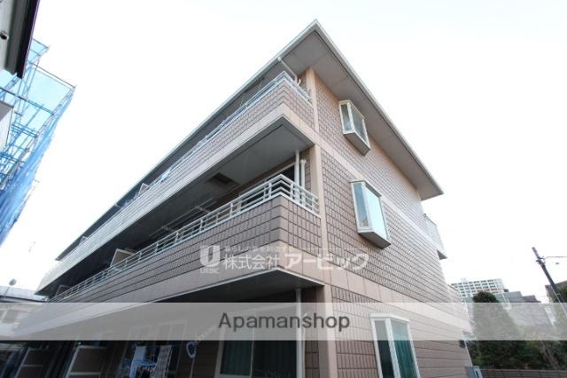 千葉県市川市、市川駅徒歩7分の築23年 3階建の賃貸アパート