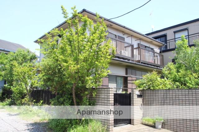 千葉県市川市、下総中山駅徒歩6分の築20年 2階建の賃貸アパート