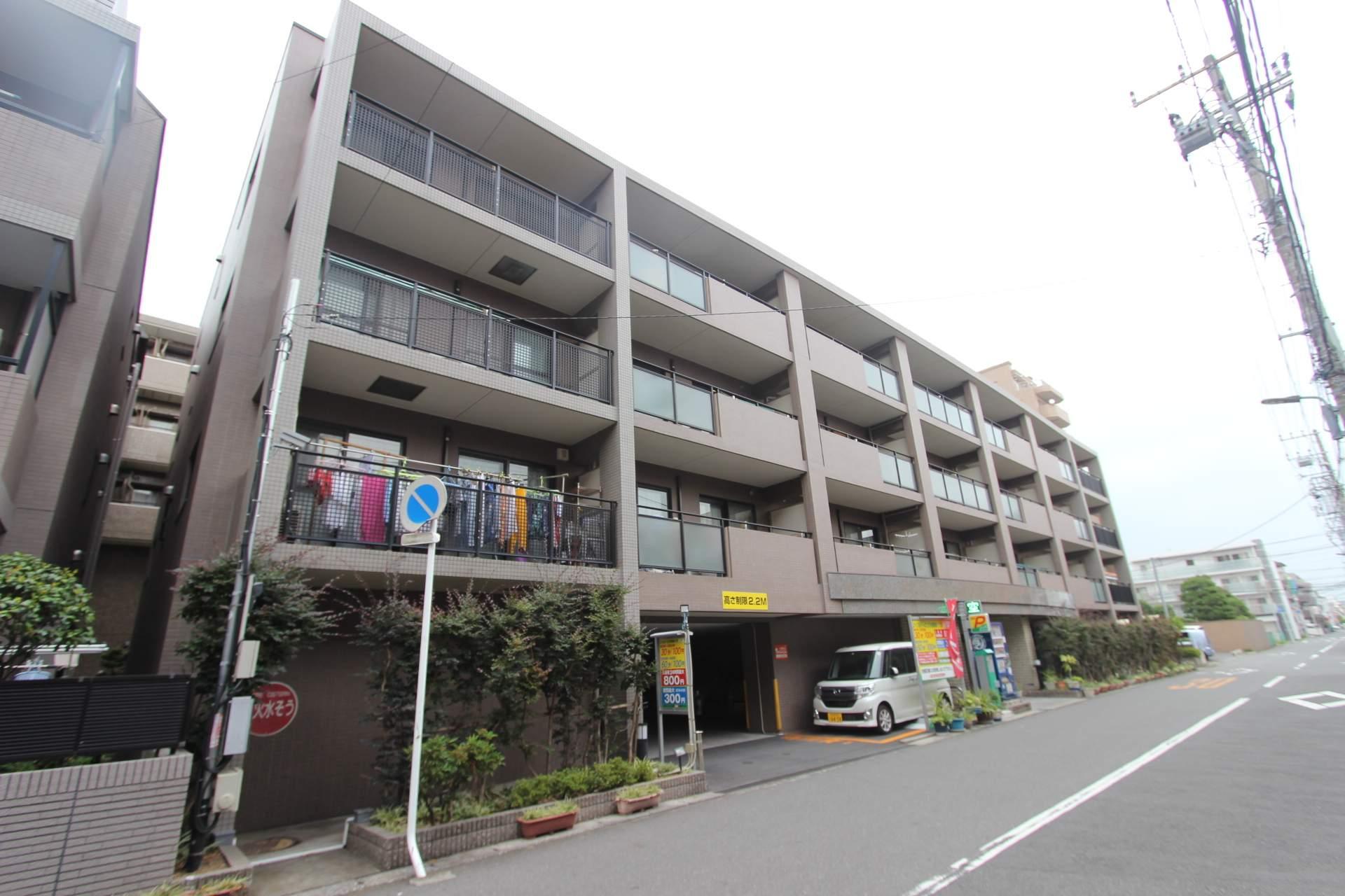 千葉県市川市、市川塩浜駅徒歩29分の築18年 4階建の賃貸マンション