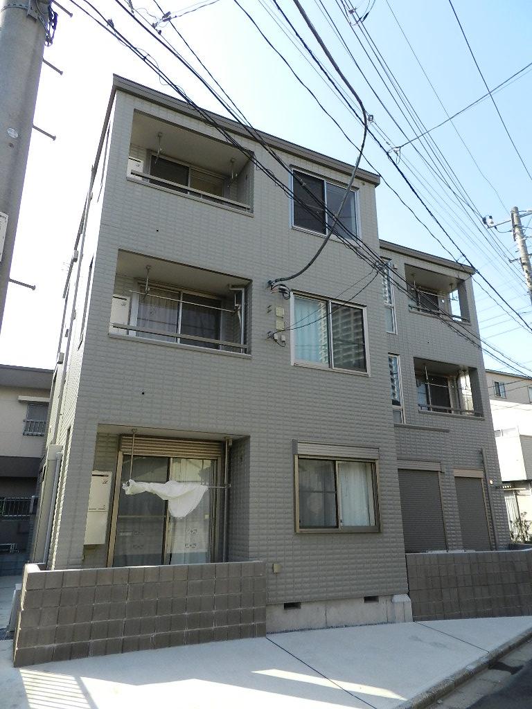千葉県船橋市、船橋駅徒歩14分の築5年 3階建の賃貸マンション