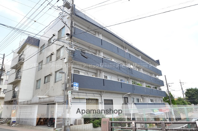 千葉県市川市、市川駅徒歩15分の築43年 5階建の賃貸マンション