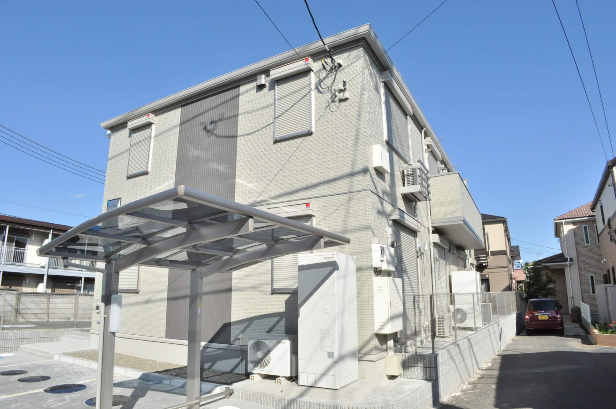千葉県市川市、市川駅徒歩20分の築5年 2階建の賃貸アパート
