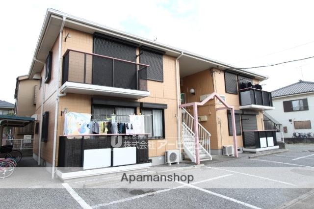 千葉県市川市、市川大野駅徒歩17分の築25年 2階建の賃貸アパート