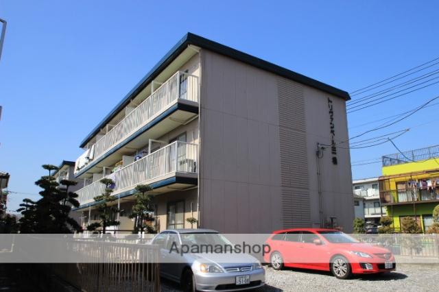 千葉県市川市、東松戸駅徒歩30分の築31年 3階建の賃貸アパート