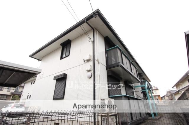 千葉県市川市、北国分駅徒歩4分の築20年 2階建の賃貸アパート