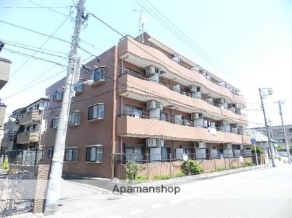 千葉県船橋市、西船橋駅徒歩4分の築23年 4階建の賃貸マンション