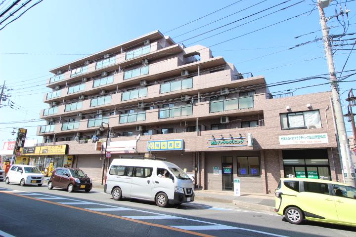 千葉県船橋市、高根木戸駅徒歩24分の築18年 6階建の賃貸マンション