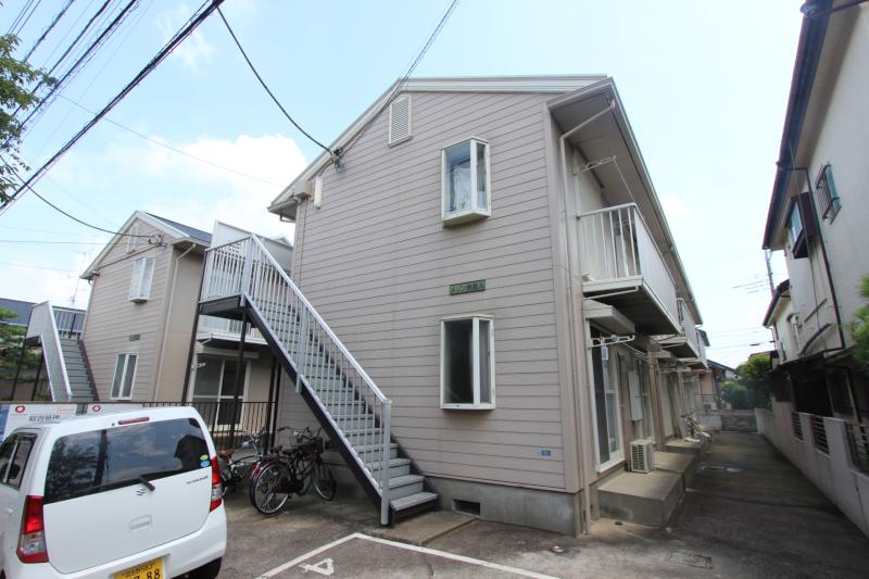 千葉県市川市、本八幡駅徒歩21分の築26年 2階建の賃貸アパート