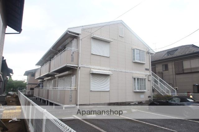 千葉県市川市、鬼越駅徒歩20分の築24年 2階建の賃貸アパート