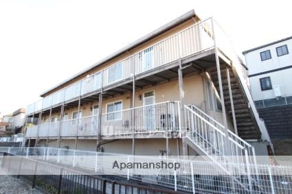 千葉県市川市、本八幡駅バス15分曽谷坂上下車後徒歩9分の築28年 2階建の賃貸アパート