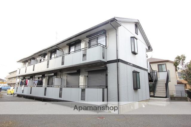 千葉県市川市、下総中山駅徒歩22分の築20年 2階建の賃貸アパート