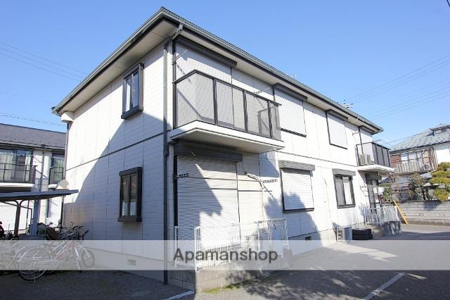 千葉県市川市、市川駅徒歩30分の築24年 2階建の賃貸アパート