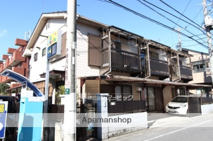 千葉県市川市、下総中山駅徒歩10分の築28年 2階建の賃貸アパート
