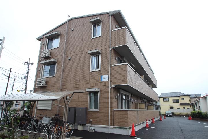 千葉県船橋市、船橋法典駅徒歩26分の築3年 3階建の賃貸アパート