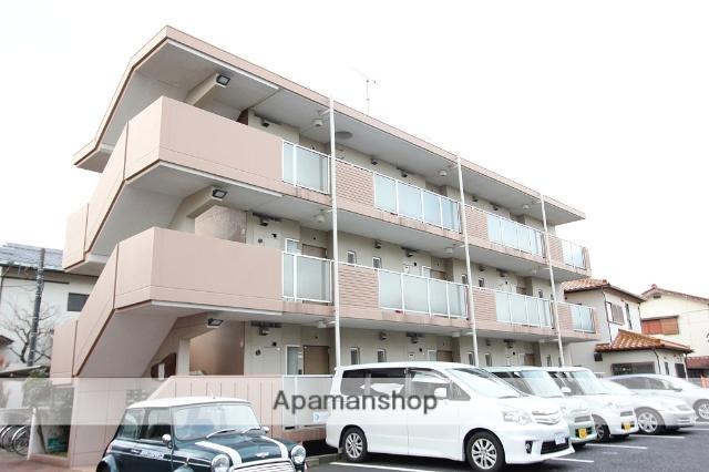 千葉県市川市、本八幡駅徒歩10分の築26年 3階建の賃貸マンション