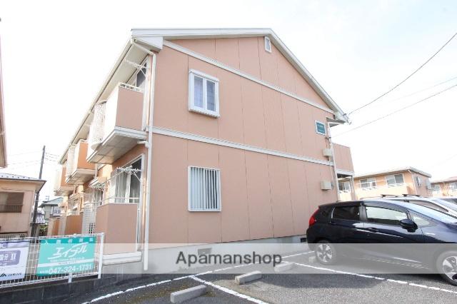 千葉県市川市、矢切駅徒歩20分の築25年 2階建の賃貸アパート