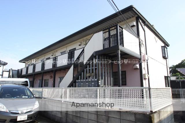 千葉県市川市、本八幡駅バス15分曽谷停下車後徒歩7分の築22年 2階建の賃貸アパート