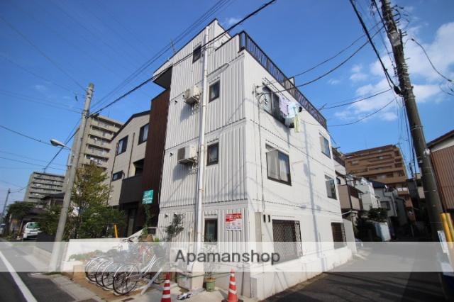千葉県市川市、下総中山駅徒歩10分の築23年 4階建の賃貸マンション