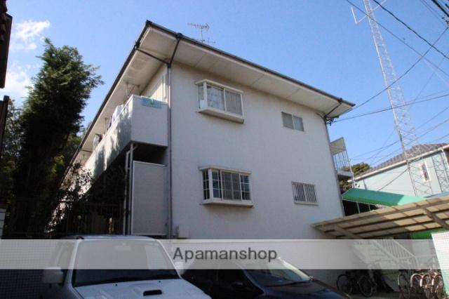 千葉県市川市、下総中山駅徒歩7分の築28年 2階建の賃貸アパート