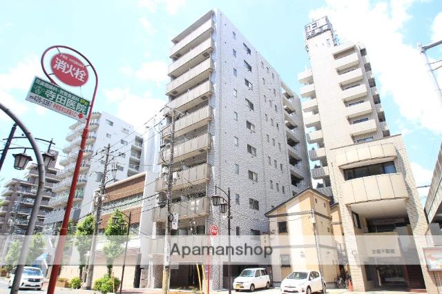 千葉県船橋市、船橋駅徒歩11分の築3年 10階建の賃貸マンション