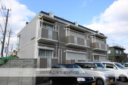 千葉県市川市、船橋法典駅徒歩9分の築21年 2階建の賃貸アパート