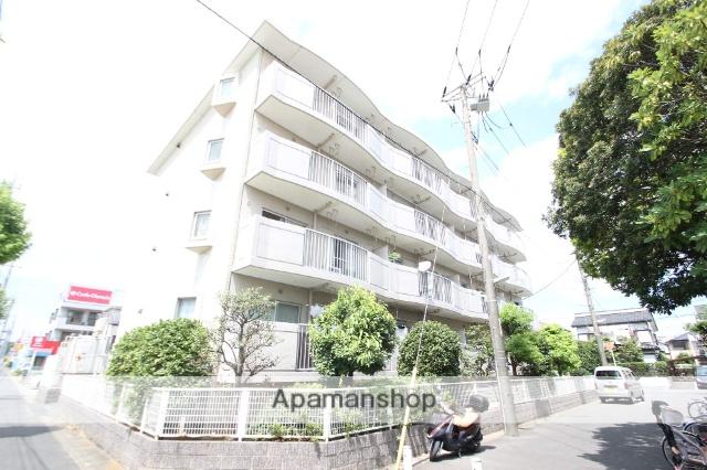 千葉県市川市、市川大野駅徒歩20分の築30年 4階建の賃貸マンション