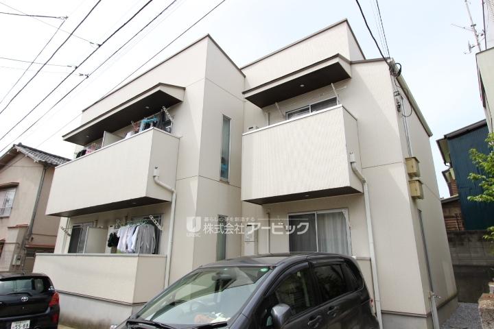 千葉県船橋市、新船橋駅徒歩12分の築8年 2階建の賃貸アパート